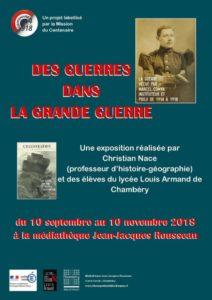 Visite commentée de l'exposition Des guerres dans la Grande Guerre