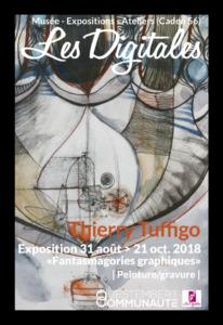 Exposition Fantamagories Graphiques - Thierry Tuffigo