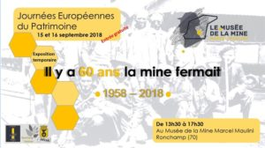 EXPOSITION : IL Y A 60 ANS, LA MINE FERMAIT