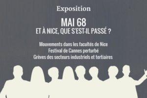 Exposition Mai 68 à Nice et dans les AlpesMaritimes
