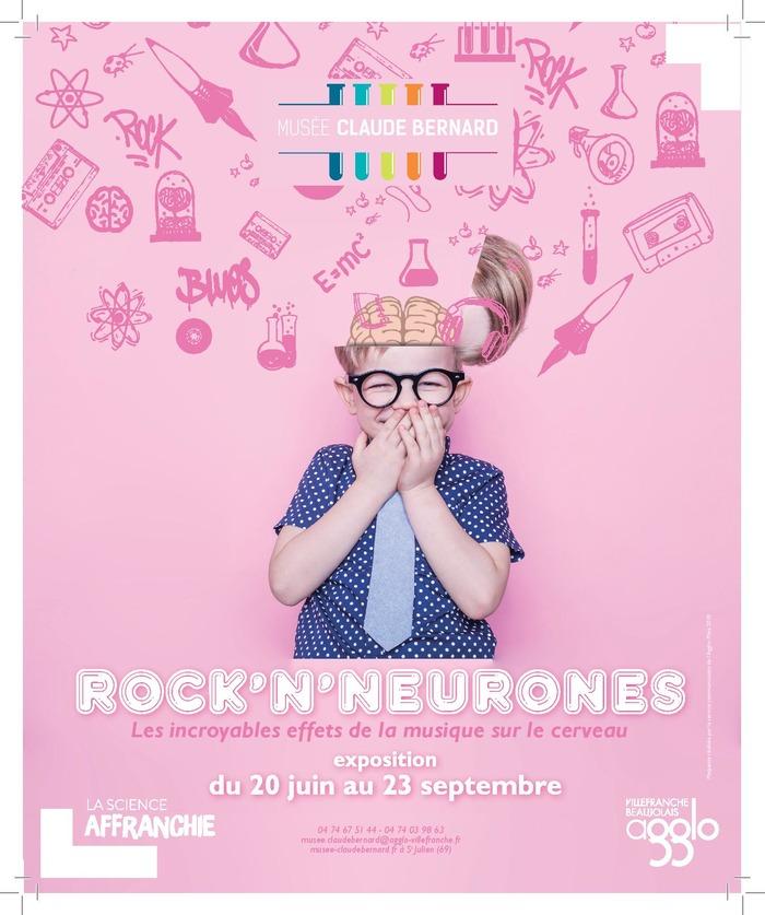 EXPOSITION ROCK'N'NEURONES : LES INCROYABLES EFFETS DE LA MUSIQUE SUR LE CERVEAU.