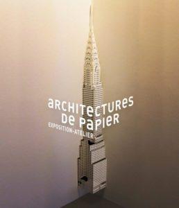 Expositionatelier Architectures de papier