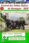 FESTIVAL DES PETITES EGLISES DE MONTAGNE : CHANTS BASQUES TRADITIONNELS ET ORIGINAUX