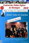 FESTIVAL DES PETITES EGLISES DE MONTAGNE : ENTRE VALSE ET CZARDAS