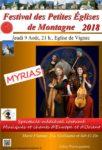 FESTIVAL DES PETITES EGLISES DE MONTAGNE : MYRIAS (L'INVENTORIUM DE CALIOPPE)