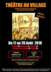 Festival Théâtre au village