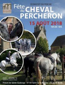 FETE DU CHEVAL PERCHERON, A L'ECOMUSEE DU PERCHE - ST CYR LA ROSIERE (61)