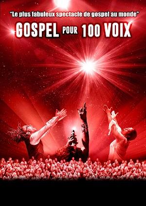Gospel pour 100 voix world tour Brest Aréna