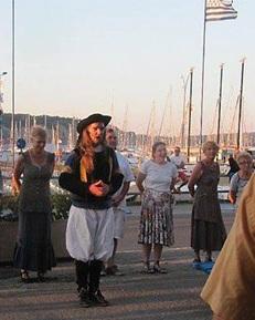 Initiation à la danse Bretonne Port de Morgat