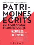 L'Agence Livre &amp Lecture présente Patrimoines écrits en Bourgogne-Franche-Comté