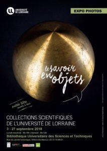 Le savoir en objets exposition