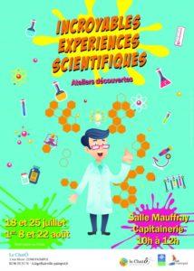 Les incroyables expériences scientifiques Salle Mauffray