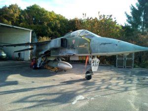 PRESENTATION DE L'AVION JAGUAR A-22