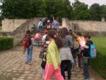 Promenades contées pour scolaires Maubuisson contes et Histoire par l'association ILETAITUNEFOIS