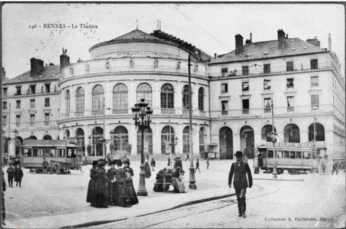 théâtre rennes ville