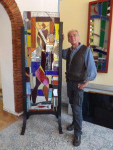 Venez découvrir l'art ancestral du vitrail à ThéoulesurMer