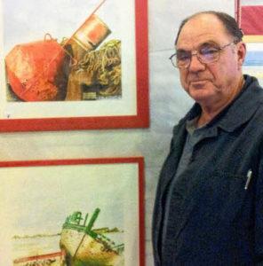 Exposition peintures Bernard Abafour Galerie de la Pointe