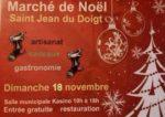 Marché de Noël à St Jean du Doigt Salle municipale Kasino