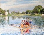 Ouverture de la nouvelle exposition Ferdinand Gueldry peintre de l'eau et de la lumière