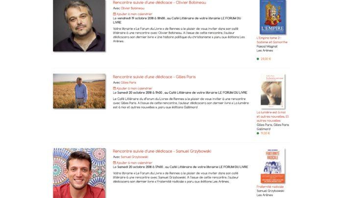 forum livre