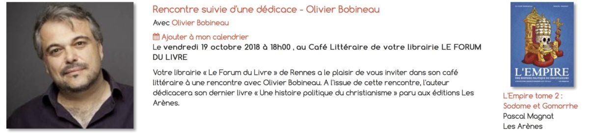 olivier bobineau bd empire