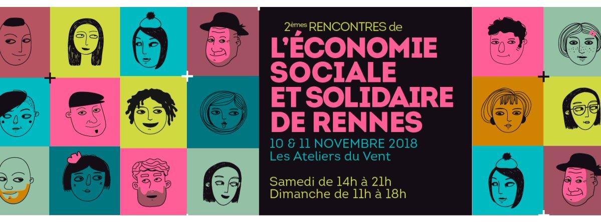 Les 2emes rencontres de l'economie sociale et solidaire rennes 2018