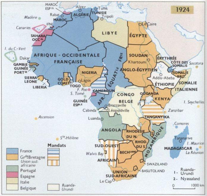colonies afrique