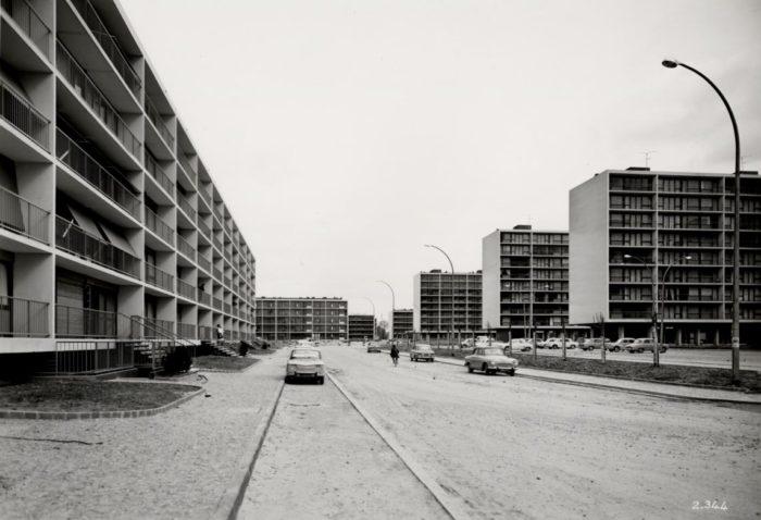 banlieue parisienne années 60