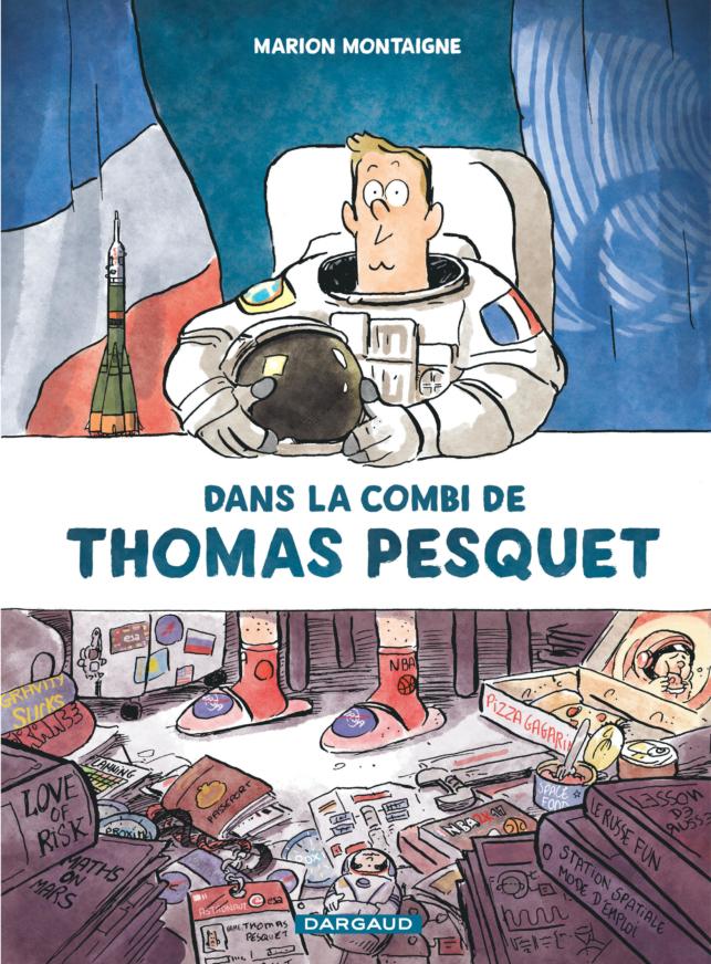 BD DANS LA COMBI DE THOMAS PESQUET