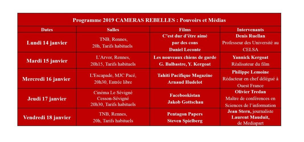 cameras rebelles