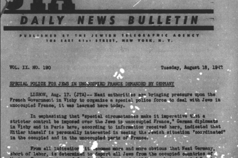 JTA Jewish Telegraphic Agency