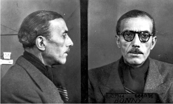 Pierre Bonny gestapo française occupation