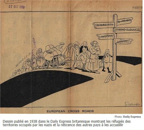 EVIAN 1938 CONFERENCE DE LA HONTE