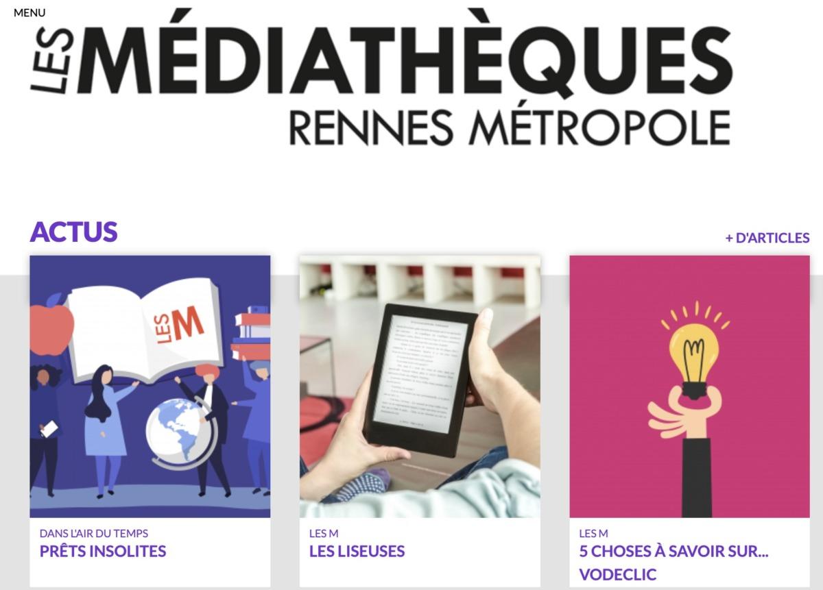 mediatheque rennes