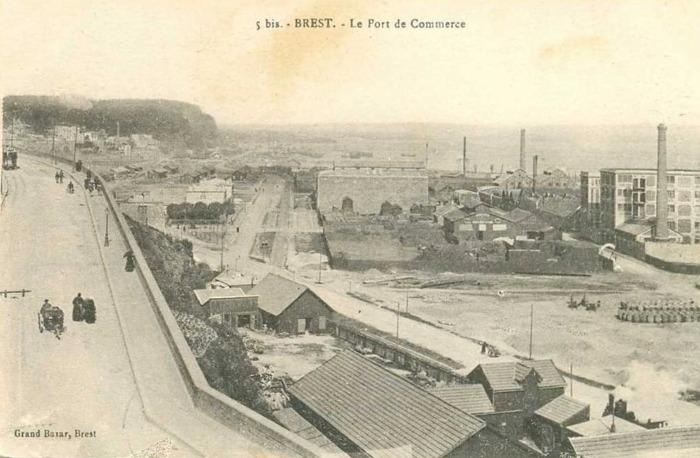 Port de commerce Brest