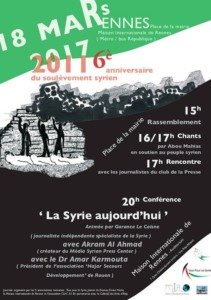 tous pour la syrie rennes