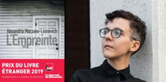 L'empreinte Alexandria Marzano-Lesnevich Sonatine