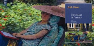 Une Enfant de l'amour Edith Olivier