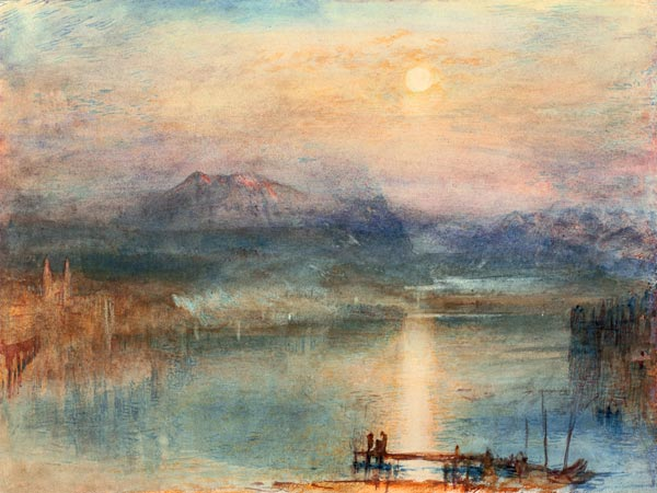 William Turner Lake Lucerne