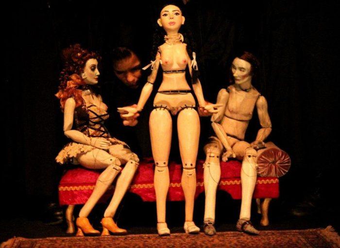 Pigmaliao Escultura que Mexe Eduardo Felix