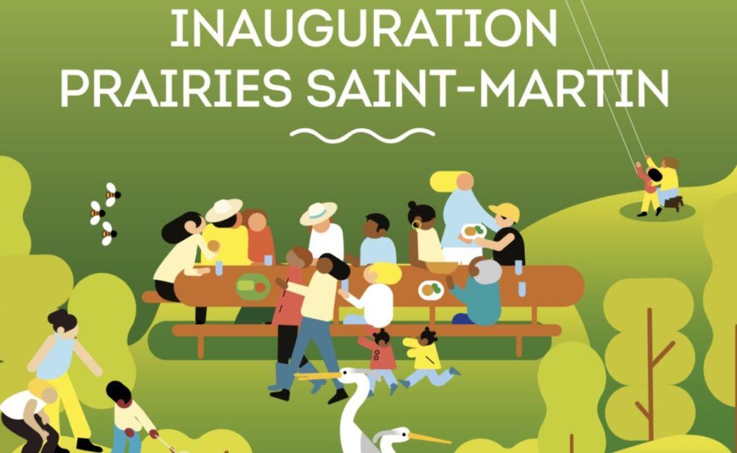 inauguration prairies saint-martin rennes