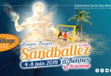 SANDBALLEZ PREVALAYE RENNES
