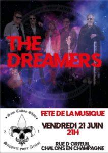2ème concert The Dreamers Rue d orfeuil  Chalons en champagne