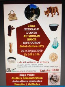 3ème Biennale d'Arts au Moulin de Brice Moulin Brice