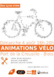 Animations vélo Port de la creusille