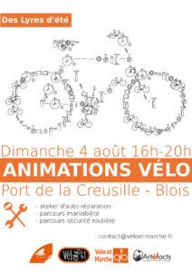 Animations vélo Port de la creusille