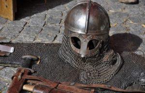 Atelier de combats historiques dans les jardins Palais des rois de Majorque