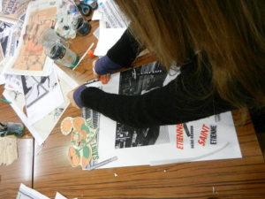 Atelier de création graphique Archives municipales de Saint-Étienne