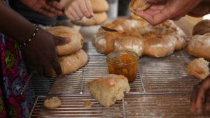 Atelier d'initiation à la fabrication du pain avec Didier Centre Tignous d'art contemporain