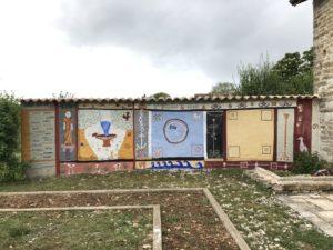 """Atelier fresque à """"l'antique"""" Villa gallo-romaine des Châteliers"""
